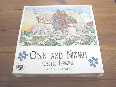 Oisin and Niamh Celtic Legend Jigsaw Puzzle, 500 pieces