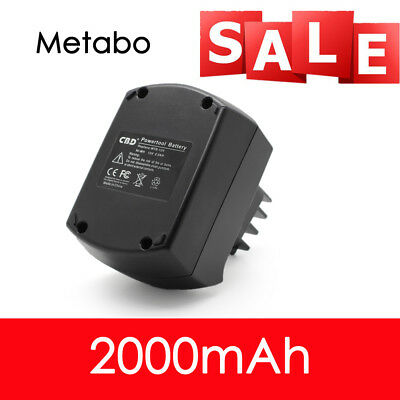 NEW For NI-MH Battery Electric Drill Tool 2.0AH 12V 10cell Metabo BSZ12 BS12SP