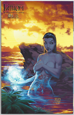 Fathom #4 ~ Michael Turner Retailer Incentive Cover!! NM+ or Better!!