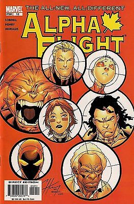 ALPHA FLIGHT # 12<>MARVEL COMICS<>SCOTT LOBDELL:CLAYTON HENRY<>2005<>vf-(7.5)~