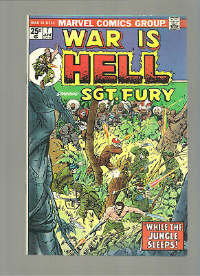 War Is Hell #7  High Grade 9.8  Copy  Sgt. Fury Appearance  Kirby Cover Art