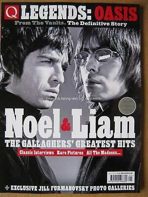 Q Legends Oasis Noel & Liam Gallagher From The Vaults The Definitive Story