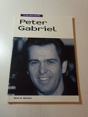 1994 SC - PETER GABRIEL IN HIS OWN WORDS Mick St. Michael LOTS OF PHOTOS
