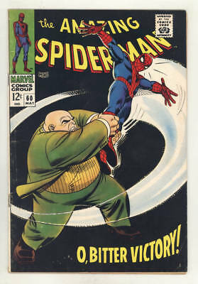May 1968 THE AMAZING SPIDER-MAN #60. Vs. KINGPIN! Stan Lee & Romita. FINE