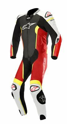 Alpinestars 2018 Missile 1Pc Leather Race Suit Tech Air Bag Ready