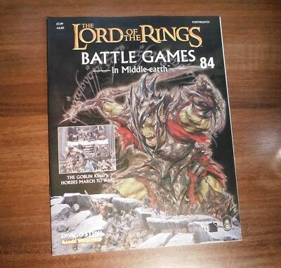 LORD OF THE RINGS Battle Games in Middle-earth Magazine Issue 84