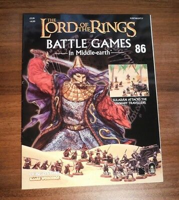 LORD OF THE RINGS Battle Games in Middle-earth Magazine Issue 86