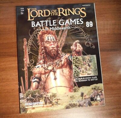 LORD OF THE RINGS Battle Games in Middle-earth Magazine Issue 89