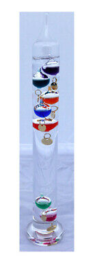 30cm tall Free standing galileo thermometer