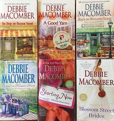 Lot Of 6 Blossom Street Series Books By Debbie Macomber