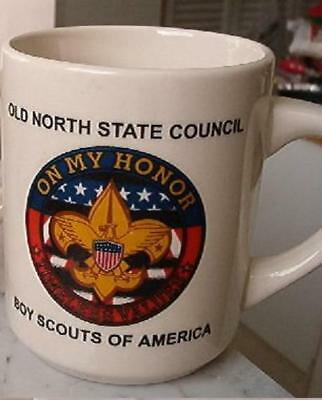 VINTAGE Boy Scouts of America - Old North State Council cup - ON MY HONOR
