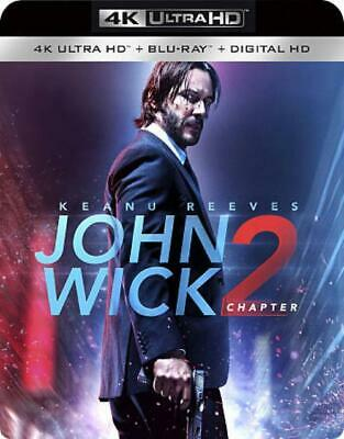 John Wick: Chapter 2 New 4K Ultra Hd Blu-Ray