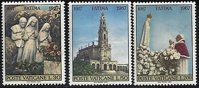 1967 Vatican  50th anniversary of the apparitions of Fatima MNH
