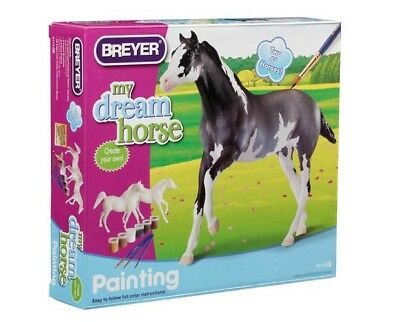 My Dream Horse  Paint Your Own Horse Activity Kit Arabian & Thoroughbred 4114<><
