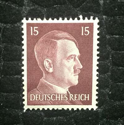 Rare Old Antique Authentic WWII German Unused Stamp - 15k