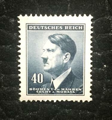 Rare Old Antique German WWII Unused Stamp - 40k