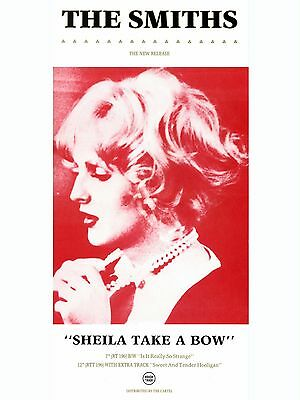 "The Smiths SHIELA TAKE A BOW 16"" x 12"" Photo Repro Promo  Poster"