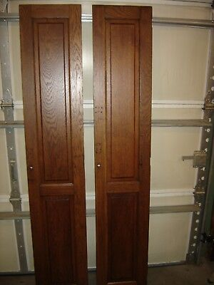Antique Oak Raised Panel Door for closet or pantry.  9882