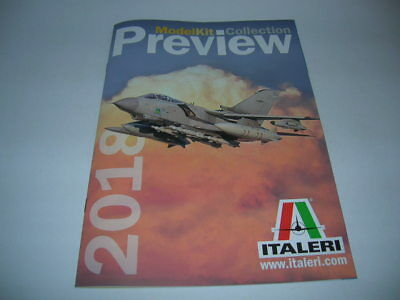 Katalog Italeri Preview 2018 Model Kit collection 16 Seiten Catalogue Neu