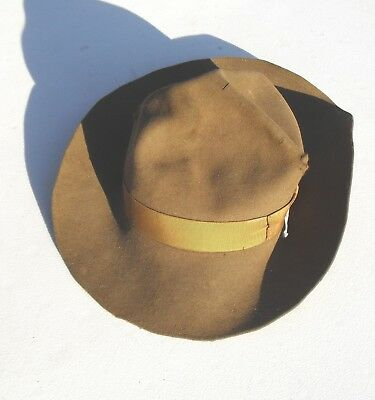 Vintage 1940-50's Boys Scouts Of America Scout Masters Official Hat