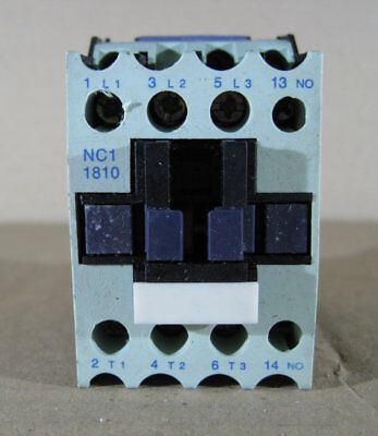 Used Chint Ac Contactor Nc1-1810 32A 32 Amp 240V