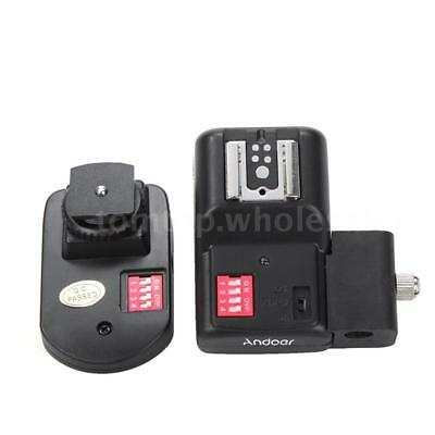 16 Channels Radio Wireless Remote Speedlite Flash Trigger PC Receiver NG O1T2