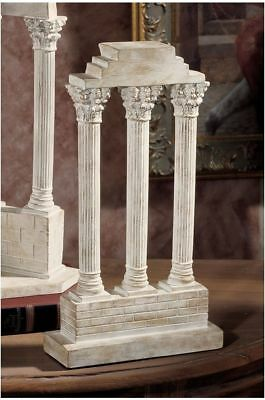Ancient Greek Roman Straight Temple Statue Column Artifact Replica Sculpture NEW
