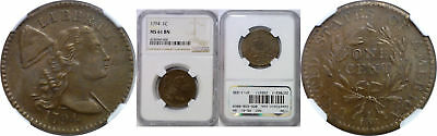 1794 Large Cent NGC MS-61 BN