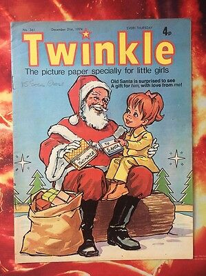Twinkle  Comic No. 361 Christmas Issue. Dress Twinkle. Puzzles Not Done Vfn/nrmt