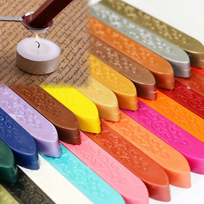 Colorful Candle Sealing Wax Seal Bee Stick Stripes For Envelope Stamp Letter Car