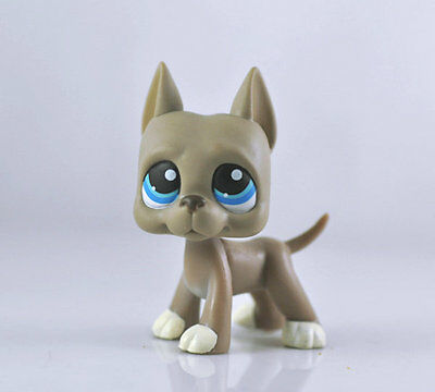 Littlest Animal Pet DANE Dog Child Girl Figure Littlest Toy Loose Cute LPS940