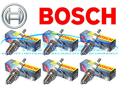 6 BOSCH SUPER PLUS SPARK PLUGS for CHRYLER DODGE CHARGER EAGLE JEEP PLYMOUTH NEW