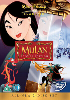 Mulan DVD (2004) Barry Cook cert U Value Guaranteed from eBay's biggest seller!
