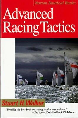 NEW Advanced Racing Tactics by Stuart H. Walker BOOK (Paperback) Free P&H