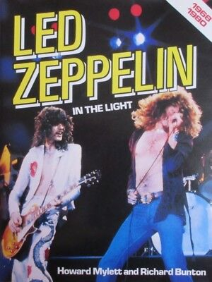 Led Zeppelin In The Light 1982 Japan Book Robert Plant Jimmy Page