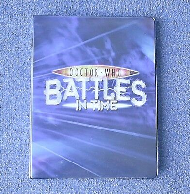 Dr Doctor Who Battles in Time Complete 225 Card Invader Set in Official Album