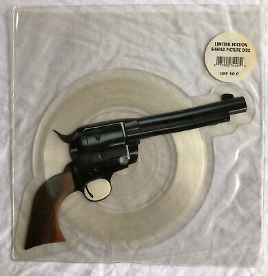 GUNS 'N' ROSES -Paradise City- Rare Shaped Picture Disc in Stickered Sleeve