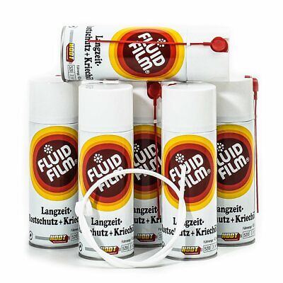 Fluid Film AS-R 400 ml Sprühdose 6er Pack+Sonde