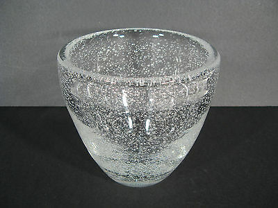 Vase Ancient Crystal Daum / Vase Crystal Bubble Daum Nancy France
