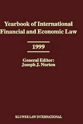 NEW Yearbook Of International Financial And Economic Law BOOK (Hardback)