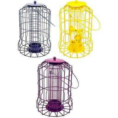 Squirrel Proof Guard Bird FAT BALL/SEED/NUT feeder feeding Garden Hanging Tray