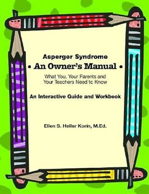 NEW Asperger Syndrome An Owner's Manual by Ellen Korin BOOK (Spiral bound)