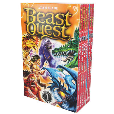 Beast Quest Book Series - Collections 1-6 (Paperback), Children's Books, New
