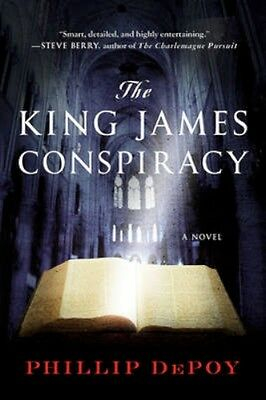 NEW The King James Conspiracy by Phillip Depoy BOOK (Paperback) Free P&H