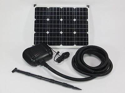 50w Solar Pump Pond Filter Submersible Set Battery Water Element