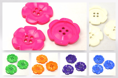 1000 White 2 Hole Shirt Buttons 9 mm premature baby knits dolls clothes joblot