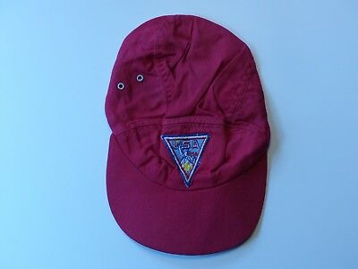 Used 1971 13th Boy Scout World Jamboree Japan Red USA Contingent Hat  Small Size