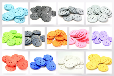 Dill Extra Large Round Resin Buttons each Dill-410129-M