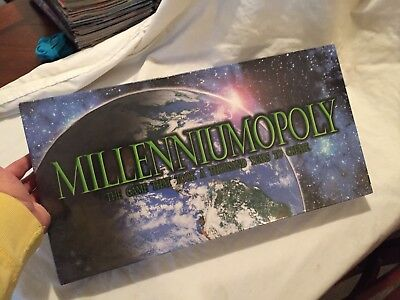 MILLENNIUMOPOLY 2000 Monopoly Style Board Game Factory Sealed