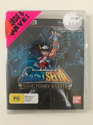 Saint Seiya Sanctuary Battle Ps3 Playstation 3 Game *Aus Seller* New & Sealed